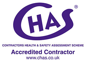 the chas contractors health and safety members logo