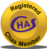 chas registered scaffold member